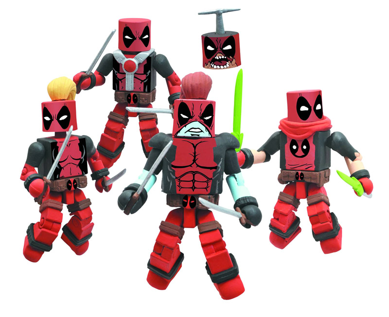 Deadpool Corps 2011 NYCC Exclusive Marvel Minimates Box Set