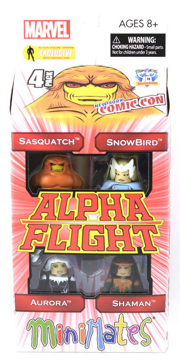 Alpha Flight Series 2 2012 NYCC Exclusive Marvel Minimates Box Set