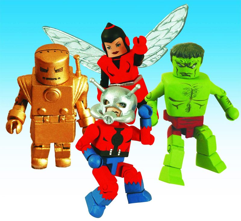 Avengers #1 Marvel Minimates Box Set