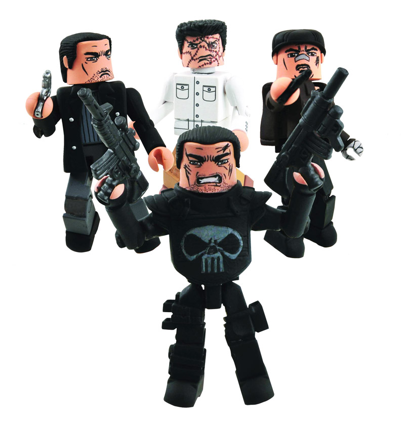 Punisher War Zone Marvel Minimates Box Set