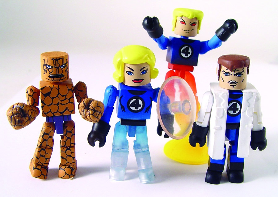 Fantastic Four 2005 SDCC Exclusive Marvel Minimates Box Set