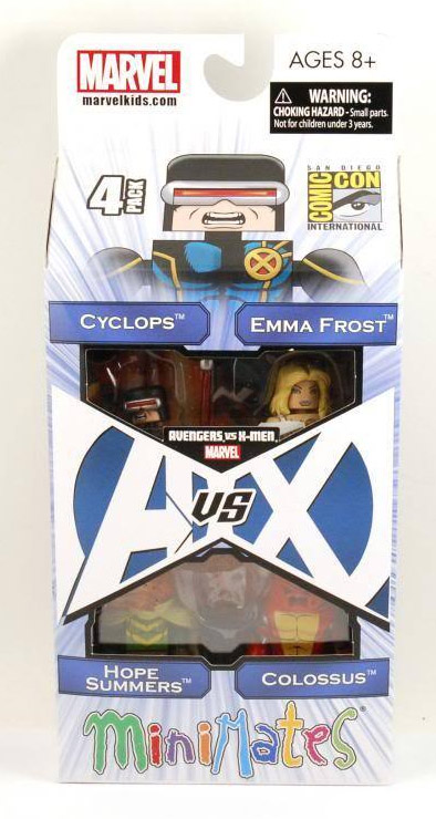 Avengers vs X-Men 2012 SDCC Exclusive Marvel Minimates Box Set