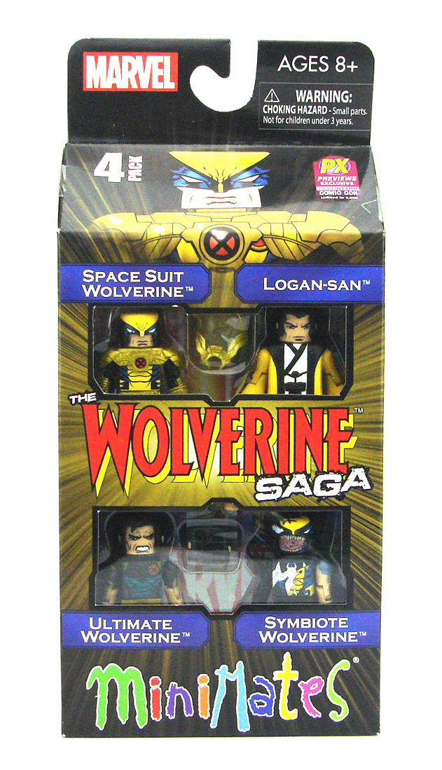 Wolverine Saga 2013 SDCC Exclusive Marvel Minimates Box Set