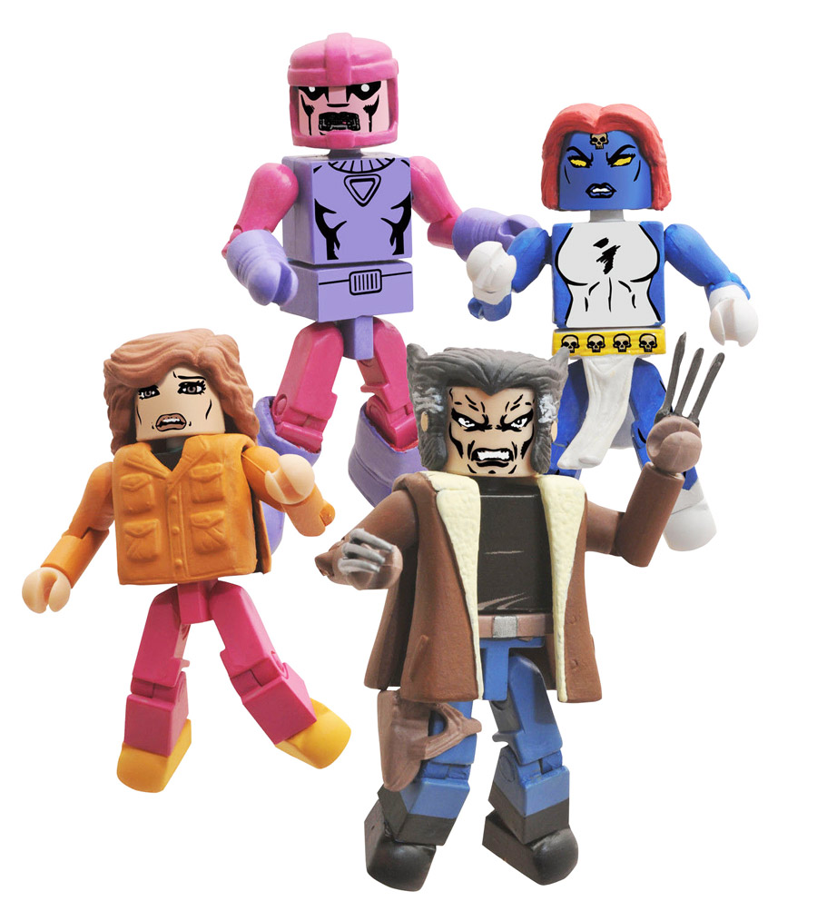 X-Men Days of Future Past 2014 SDCC Exclusive Marvel Minimates Box Set