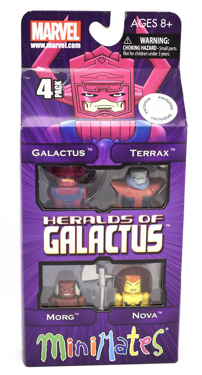Heralds of Galactus 2012 TRU Exclusive Marvel Minimates Box Set