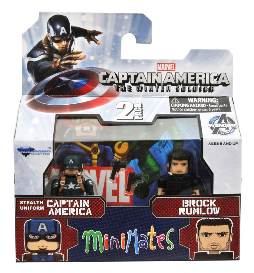 Captain America & Brock Rumlow Marvel Minimates Series 55