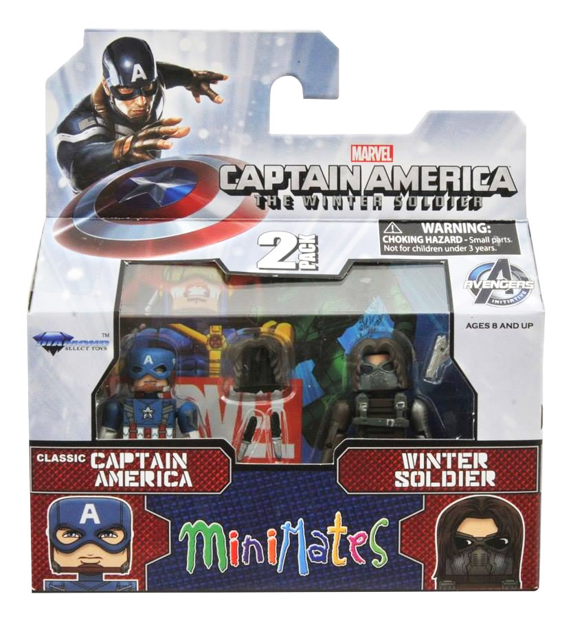 Classic Captain America & Winter Soldier Marvel Minimates Series 55