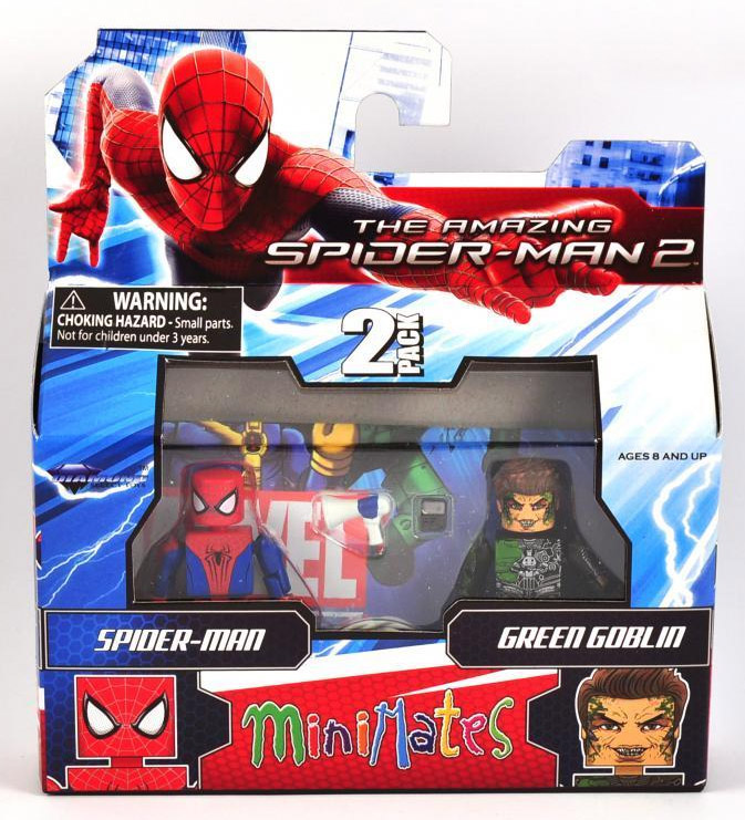 Spider-Man & Green Goblin Marvel Minimates Series 56