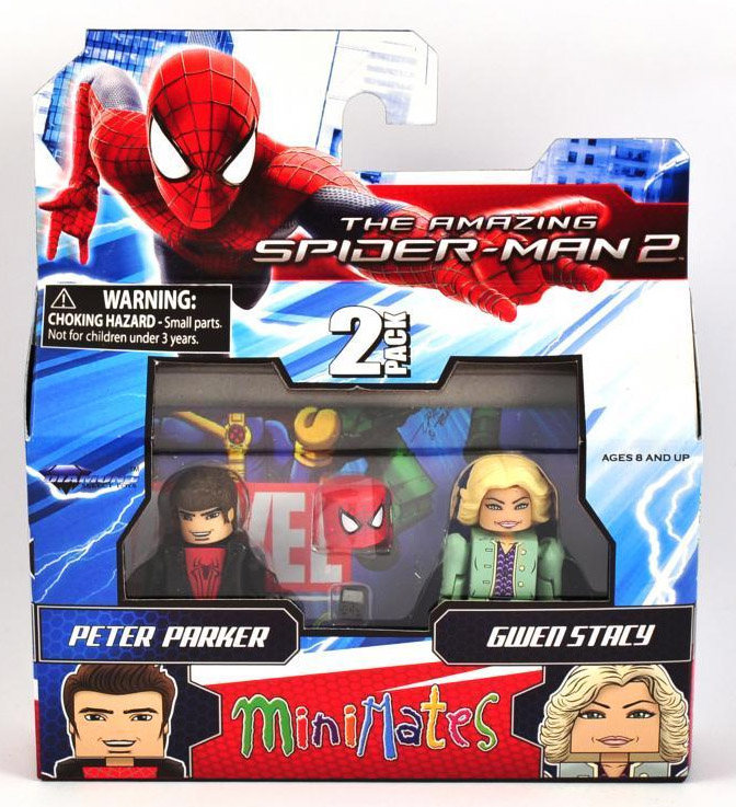 Peter Parker & Gwen Stacy Marvel Minimates Series 56