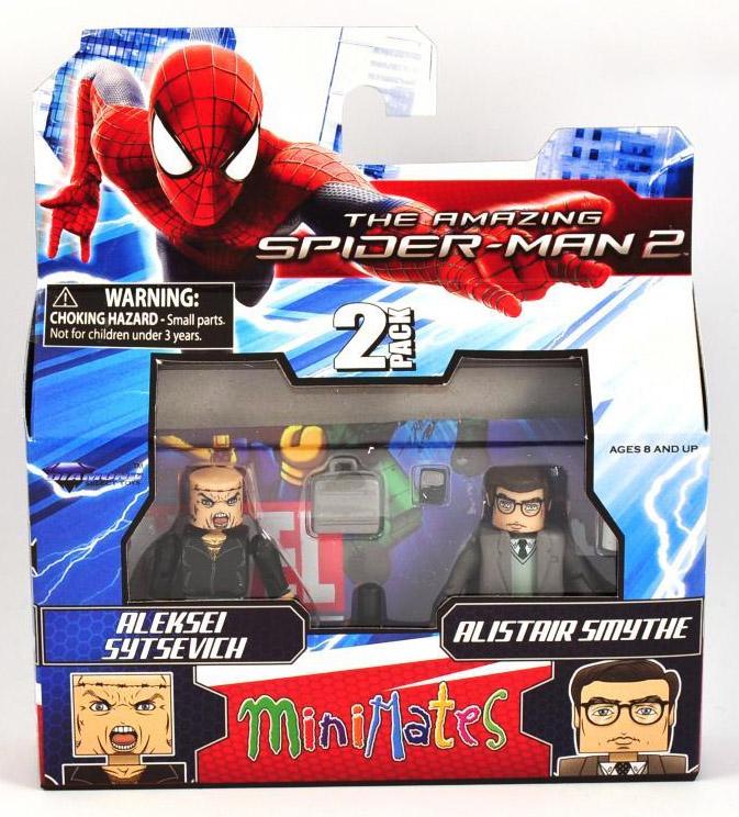 Aleksei Sytsevich & Alistair Smythe Marvel Minimates Series 56