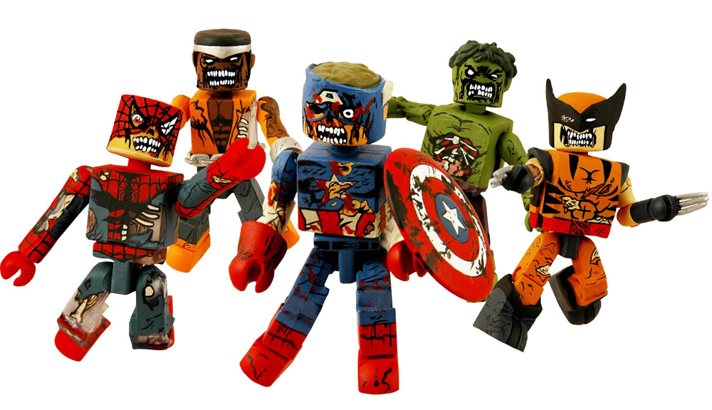 Marvel Zombies Minimates 5-Pack Box Set