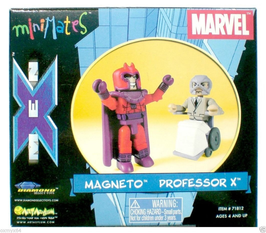 Magneto & Professor X 2003 AFX Marvel Minimates Exclusive