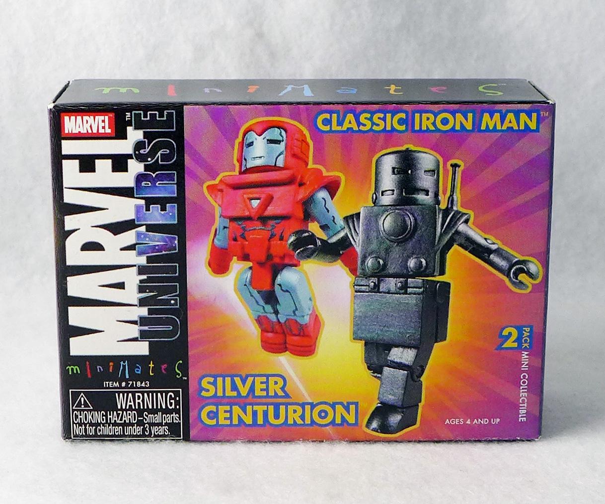 Classic Iron Man & Silver Centurion 2004 AFX Marvel Minimates Exclusive
