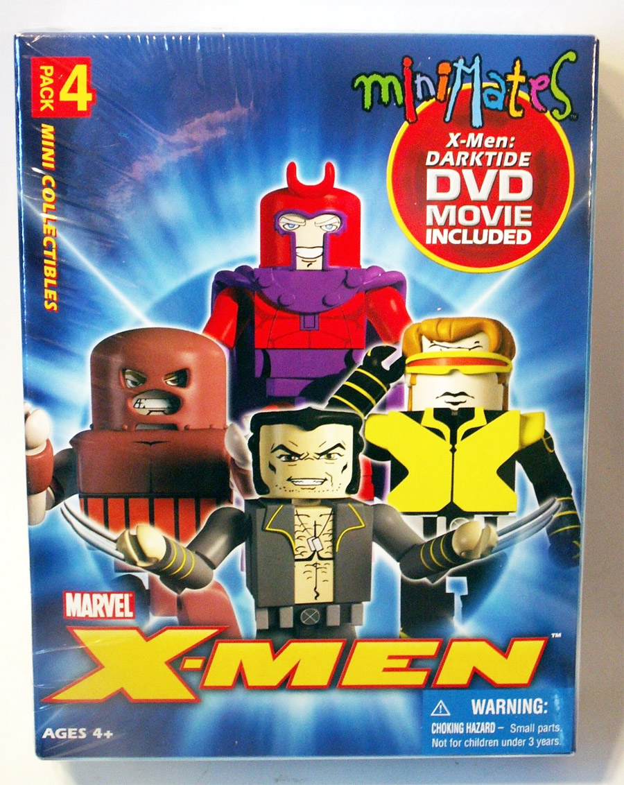 Marvel Minimates Darktide DVD Box Set