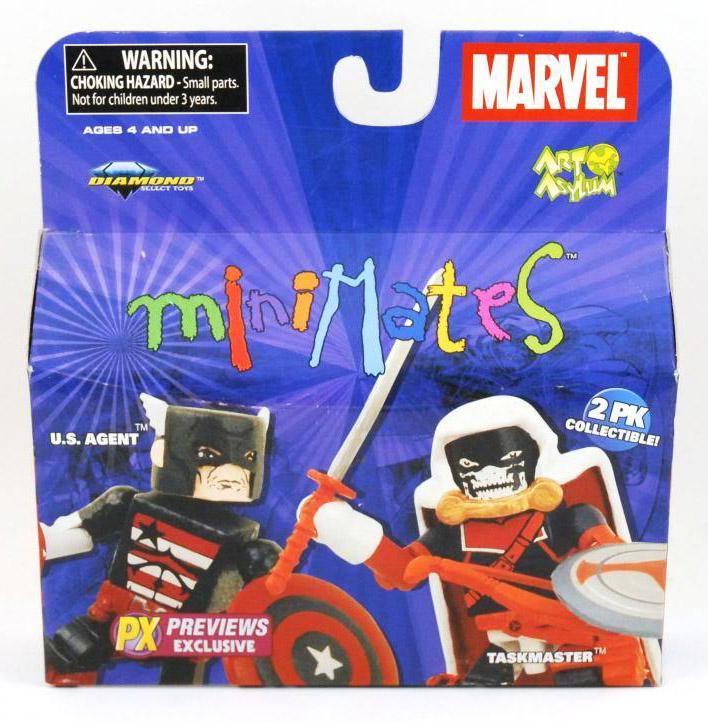 Taskmaster & US Agent Marvel Minimates Exclusive