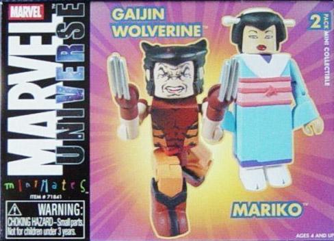 Gaijin Wolverine & Mariko Yashi 2004 SDCC Marvel Minimates Exclusive