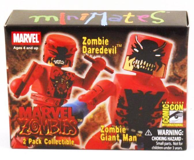 Zombie Daredevil & Giant Man 2007 SDCC Marvel Minimates Exclusive