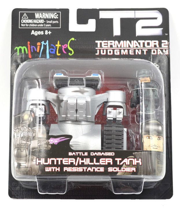 Terminator 2 Hunter-Killer Tank & Resistance Soldier Minimate