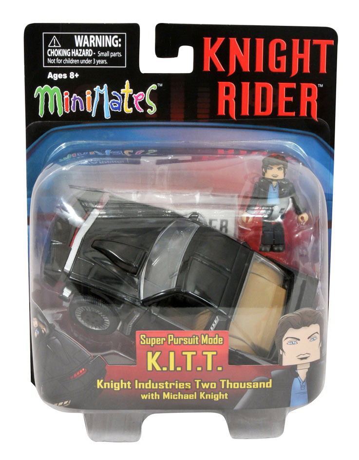 Knight Rider Super Pursuit Mode K.I.T.T. & Michael Knight Minimate