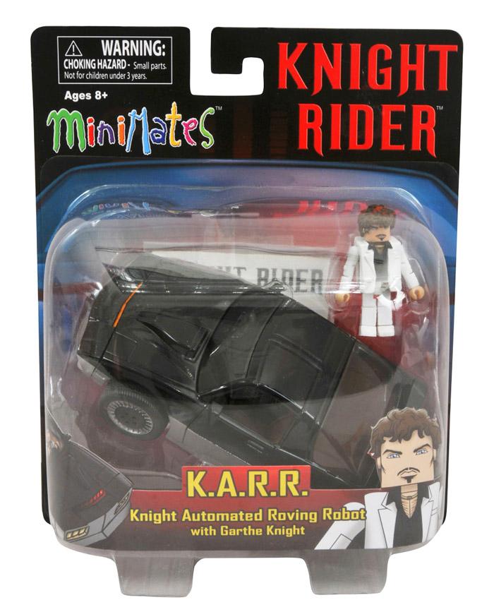 Knight Rider K.A.R.R. & Garthe KnightMinimate