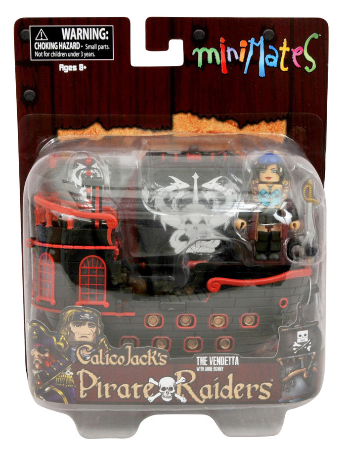 Calico Jack Pirate Raiders The Vendetta Ship & Anne Bonny Minimate