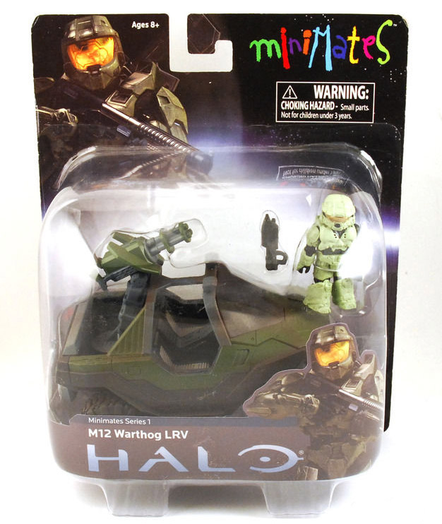 Halo M12 Warthog LRV Vehicle & Minimate