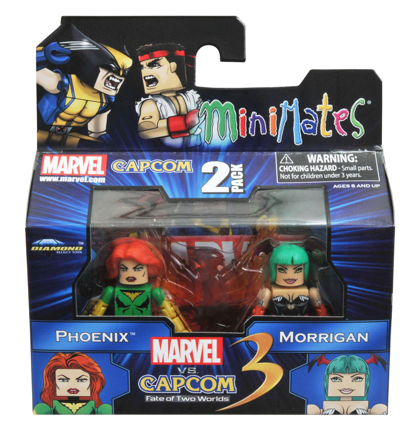 Phoenix vs Morrigan Marvel vs Capcom Minimates Series 1