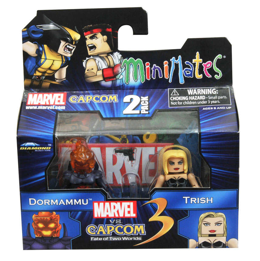 Dormammu vs Trish Marvel vs Capcom Minimates Series 1