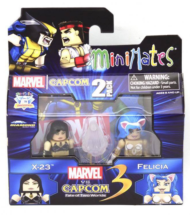 X-23 & Felicia Marvel vs Capcom Minimates Series 3