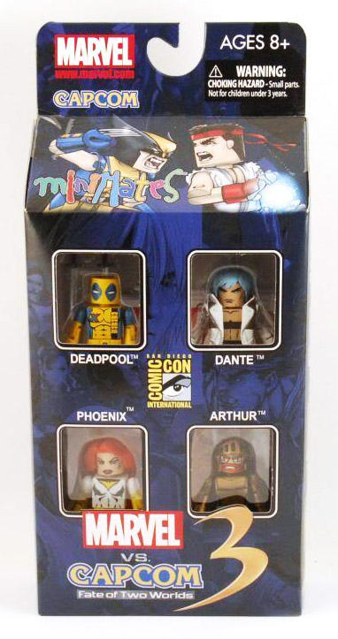 Marvel vs. Capcom 2011 SDCC Exclusive Minimates Box Set