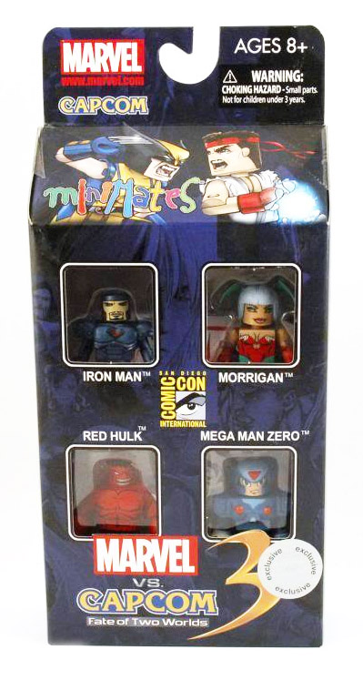 Marvel vs. Capcom 2011 TRU Exclusive Minimates Box Set