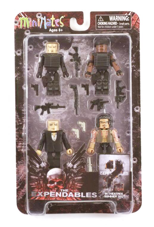 The Expendables Minimates Series 1 Box Set