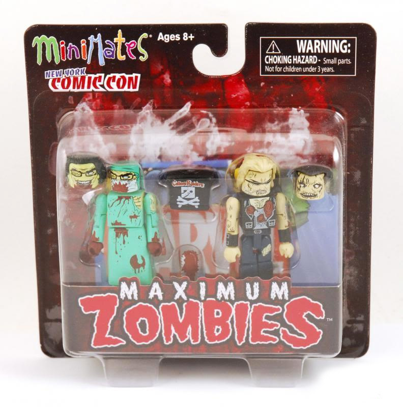 Zombie Biker & Zombie Surgeon 2011 NYCC Minimates Exclusive