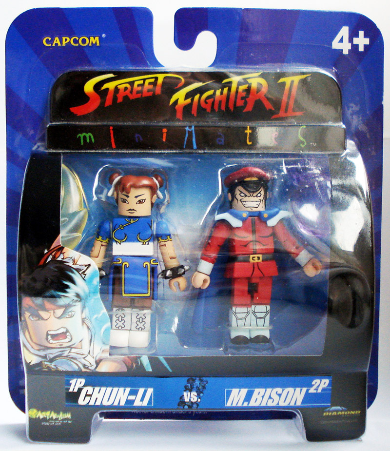 Chun-Li vs. M. Bison Street Fighter Minimates