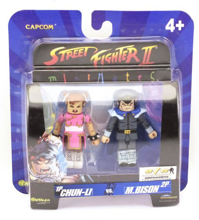 Chun-Li vs M.Bison Variant Street Fighter Minimates