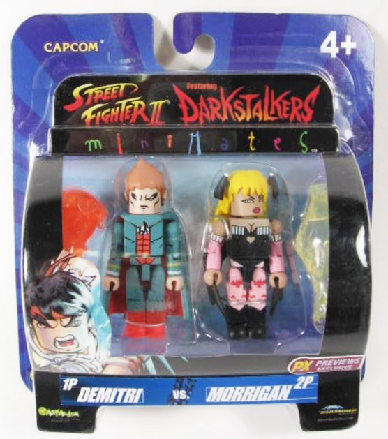 Demitri vs Morrigan Variant Darkstalkers Minimates