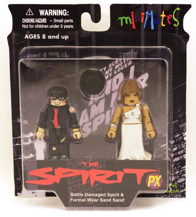 Battle Damage Spirit & Formal Wear Sand Saref Minimates