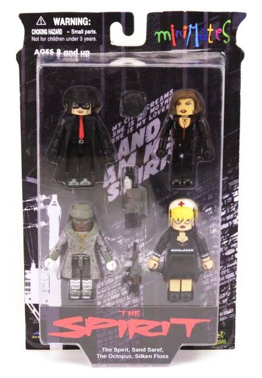 The Spirit Minimates Box Set