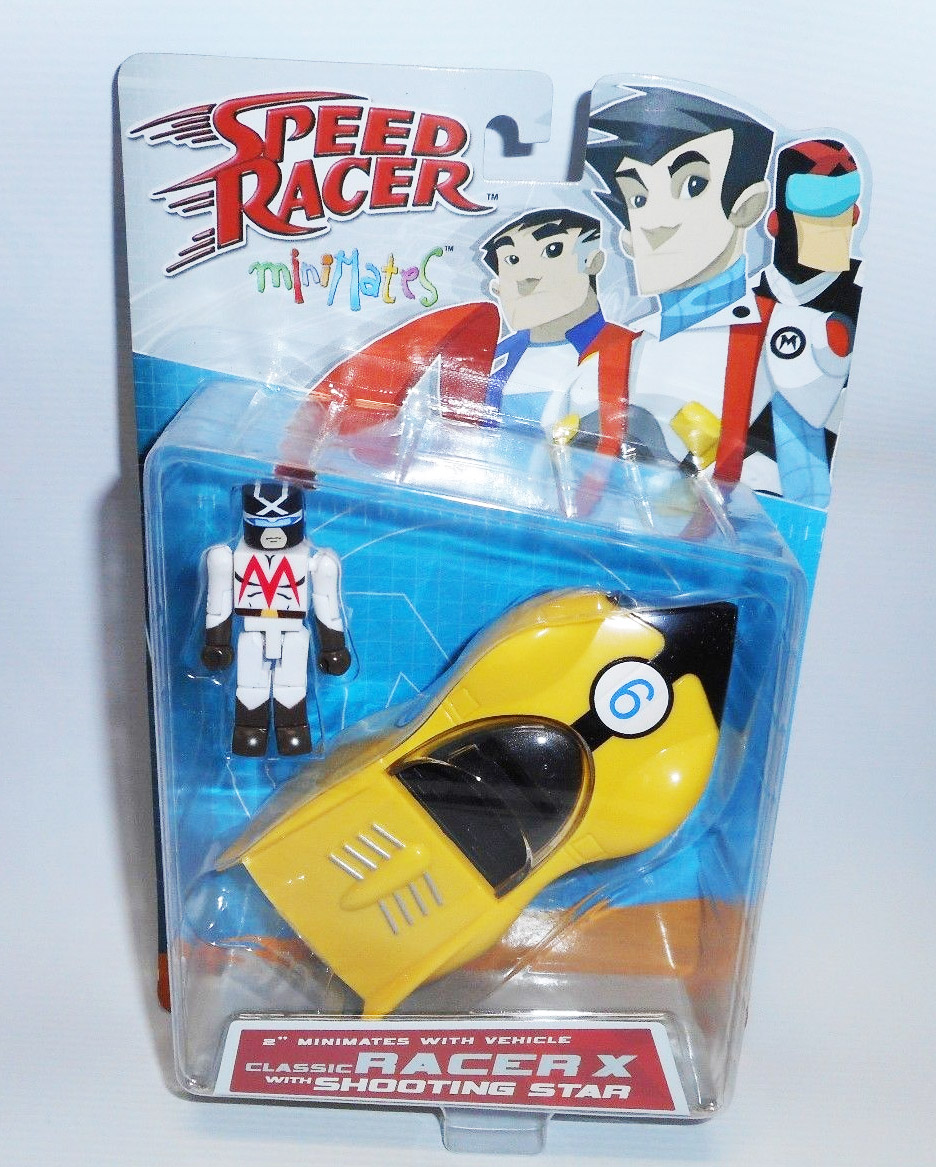 Racer X & Shooting Star Speed Racer Minimates