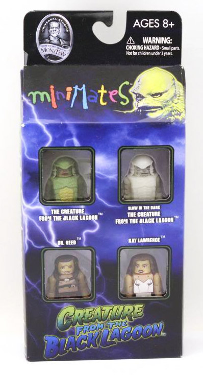 Creature from Black Lagoon Universal Monsters Minimates Box Set