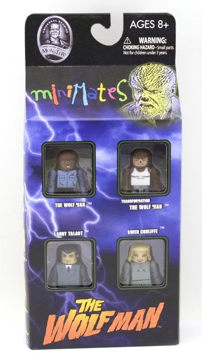 Wolfman Universal Monsters Minimates Box Set