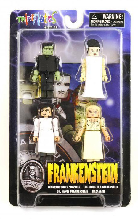 Frankenstein Universal Monsters Minimates Box Set