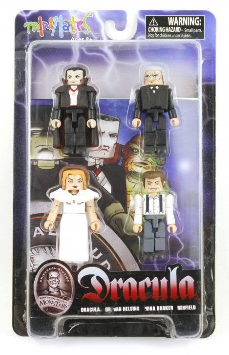 Dracula Universal Monsters Minimates Box Set