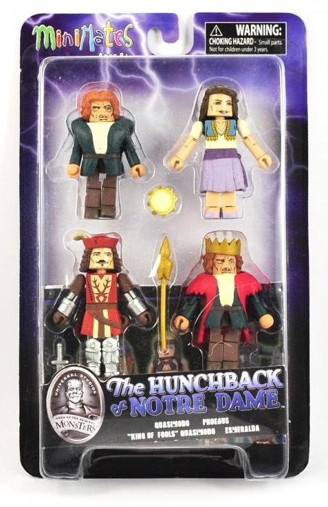 Hunchback of Notre Dame Universal Monsters Minimates Box Set