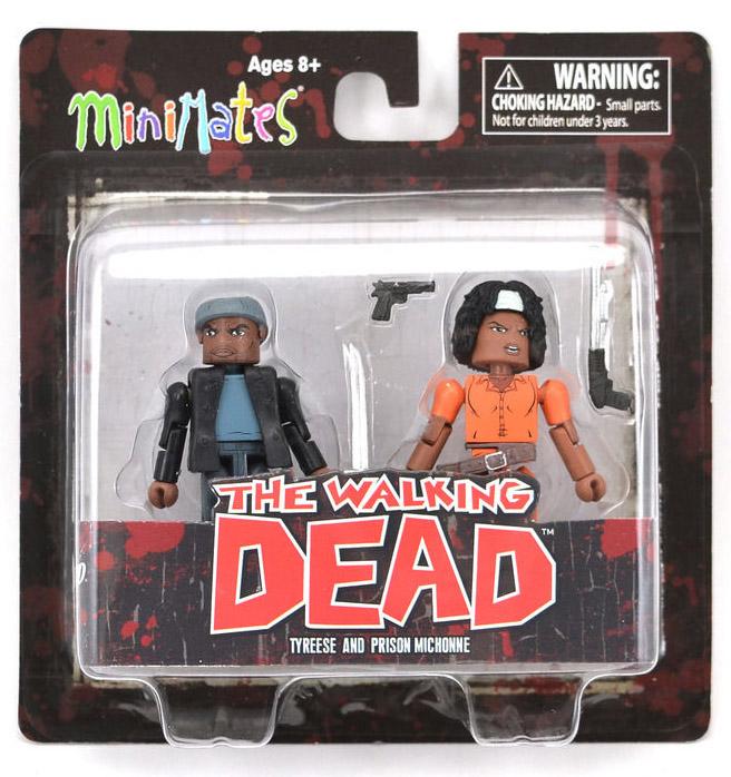 Tyreese & Prison Michonne Walking Dead Minimates Series 5