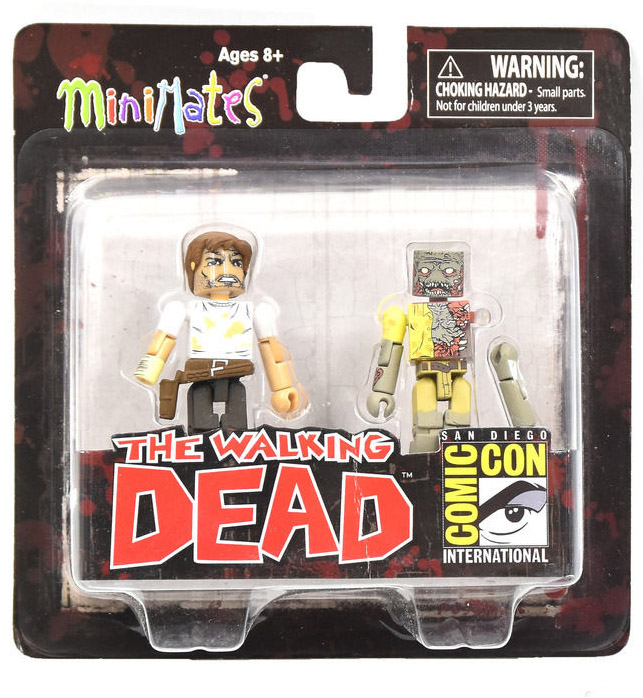 Rick Grimes & Vacation Zombie SDCC Exclusive Walking Dead Minimates