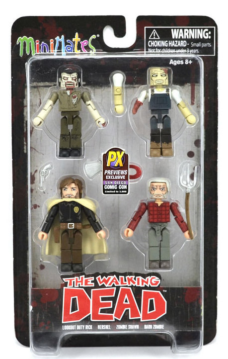 Walking Dead Hershel's Farm SDCC Exclusive Box Set
