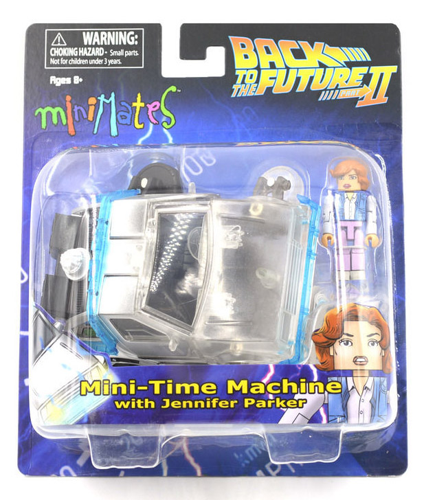 Back to the Future 2 Delorean Time Machine & Jennifer Minimate