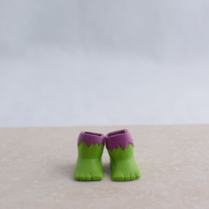 Hulk Feet