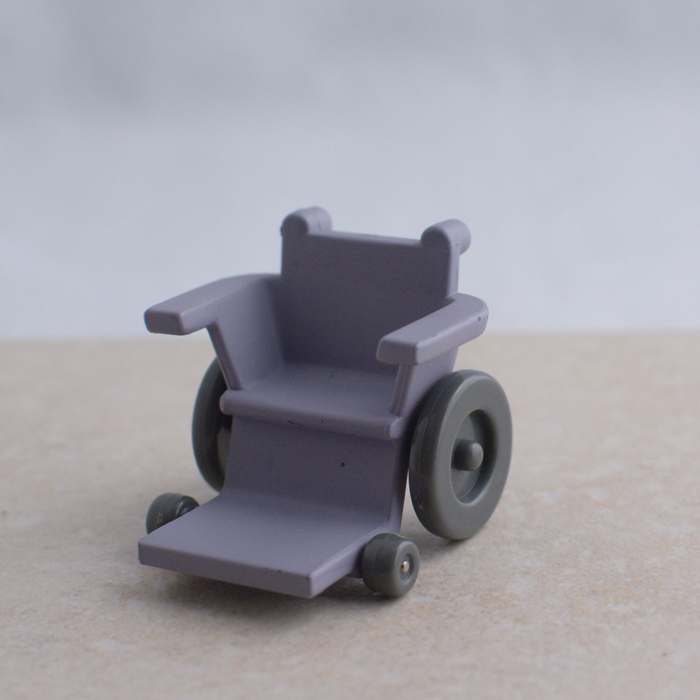Purple Wheelchair